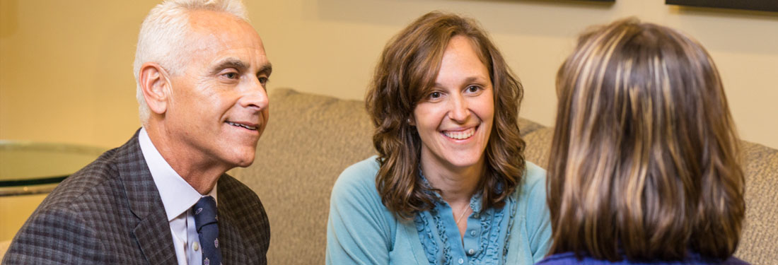 Stuart Koman, P.D., Walden Behavioral Care, President and CEO; Renee Bazinet Nelso, Psy.D. Walden Behavioral Care Program Director of Adolescent Services